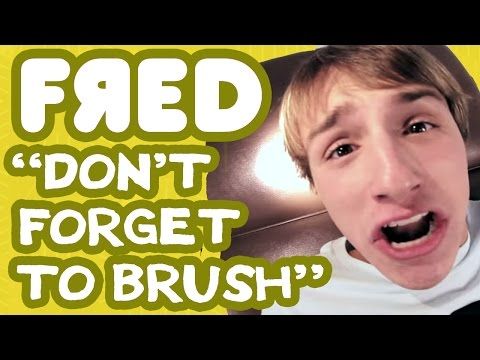 don't Forget To Brush Music Video - Fred Figglehorn video