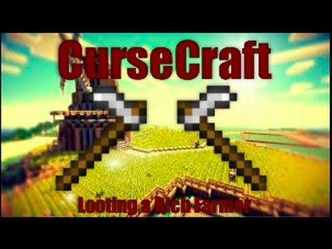 CurseCraft - Minecraft Looting A RICH Farmer