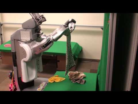 (50X) Autonomously folding a pile of 5 previously-unseen towels...