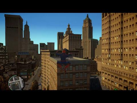 Spiderman IV - GTA IV script mod by Bob Lester and JulioNIB