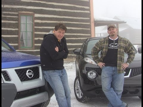 2012 Nissan Xterra vs Juke mashup review & drive: Which is the most snow-worthy?