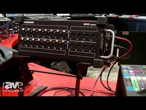 InfoComm 2014: Allen & Heath Announces New Portable AB-168 Audio Box