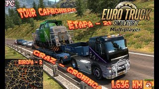 ETS 2 // PC // MULTIPLAYER - ETAPA 21 DEL TOUR CAMIONERO CON SUSCRIPTORES