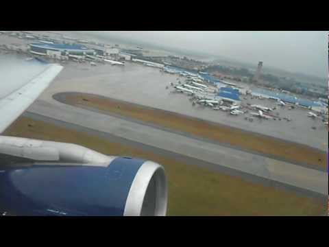 US Airways Airbus A321-211 [N187US] Takeoff Charlotte - Douglas ...