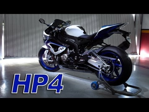 New BMW S1000 RR HP4 - Spec & Sound