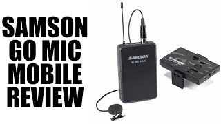 Samson Go Mic Mobile Review: Wireless Microphones for All!