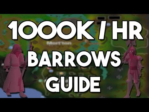How to Make 1000k/hr Killing Barrows! [2017] - Oldschool Runescape Money Making Method! [OSRS]