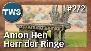 Tutorial: Amon Hen aus Der Herr der Ringe #2/2 / The Lord of the Rings (Tabletop-Gelände, TWS)