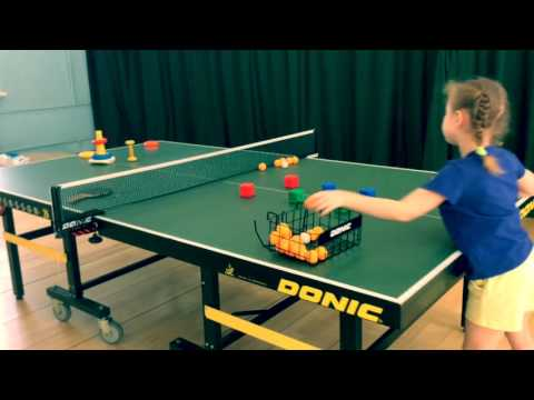 Table tennis for 4-5 years old children