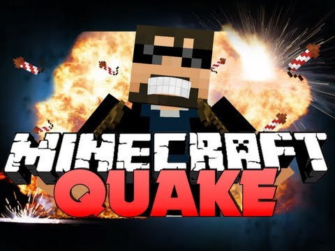 Minecraft QUAKE CRAFT!! - 360 NO SCOPE OP!!!