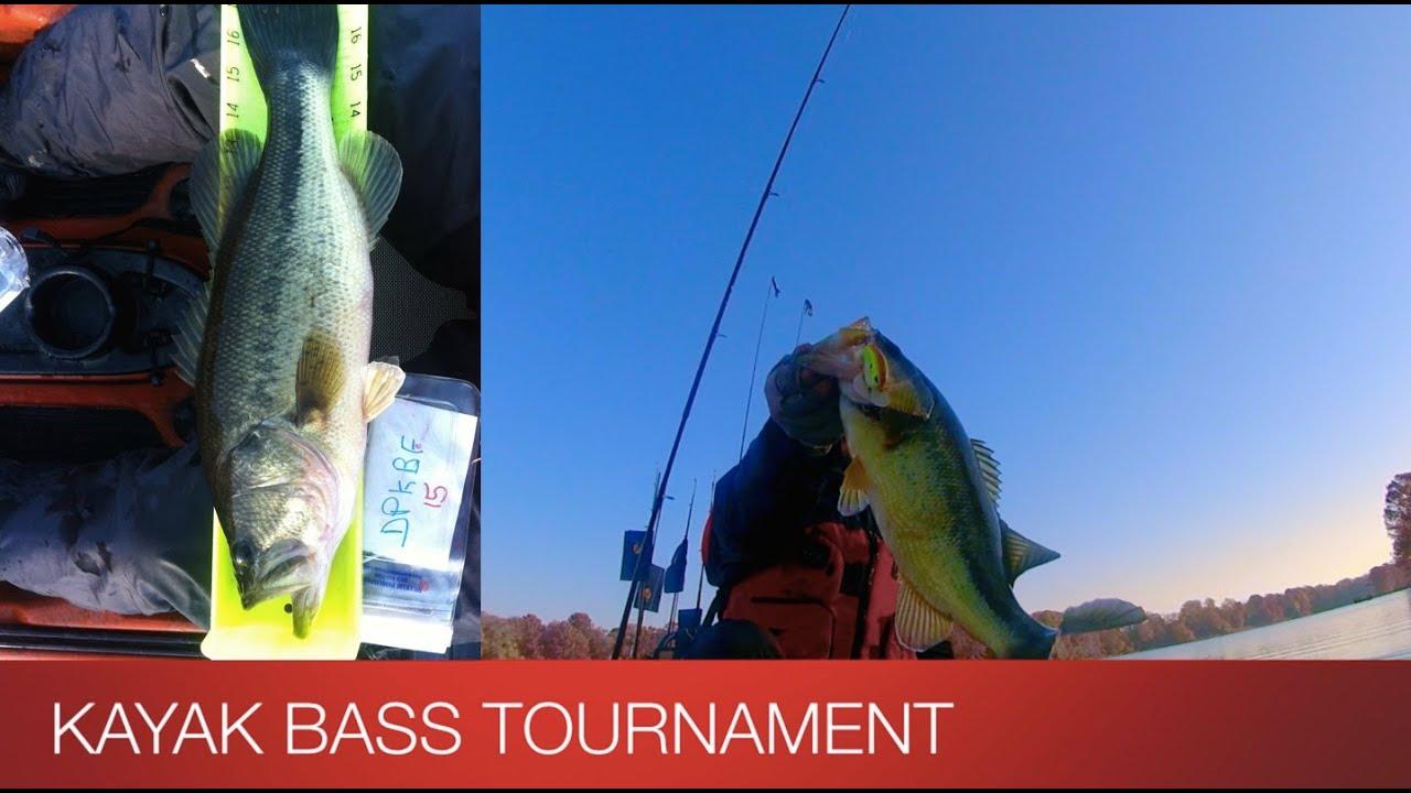 Kayak bass tournament 11 15 14 youtube for Kayak bass fishing tournaments