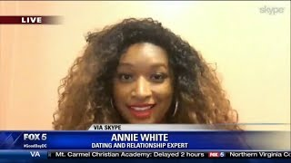 FOX 5: Remove Toxic Relationships with Dating and Relationship Coach Annie White