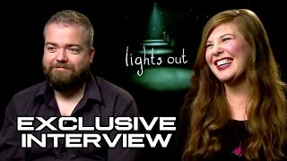 Director David F. Sandberg & Actress Lotta Losten Exclusive LIGHTS OUT Interview