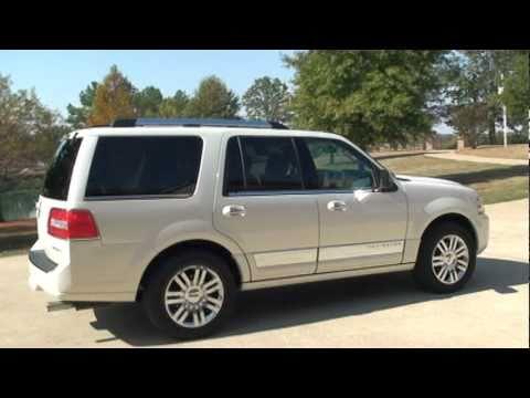 Sold 2007 Lincoln Navigator Ultimate 4x4 White