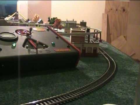 Hornby Live Steam Mallard Ad-hoc Surrealist Layout