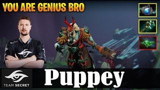 Puppey - Grimstroke Safelane | YOU ARE GENIUS BRO | Dota 2 Pro MMR Gameplay