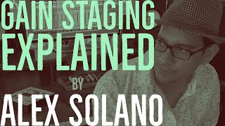 The Most Common Mistake in Mixing | GAIN STAGING