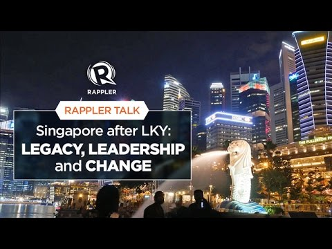 Rappler Talk: Singapore after LKY – legacy, leadership, and change