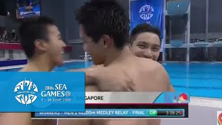 Swimming Men 4x100m Medley Relay (Day 6) | 28th SEA Games Singapore 2015