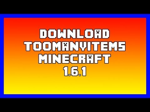 Download TooManyItems Minecraft 1.7.2 [ITA]