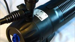 All in One Pond Pump Filter With 9w UV Steriliser (CUP-359) - All Pond Solutions