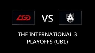 LGD.cn vs Alliance @The International 3 Playoffs (UB1) (BO3) #TI3