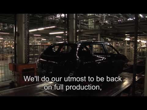 Nissan: Japan Factories Recovery 国内工場生産復旧の状況 (Full Version)