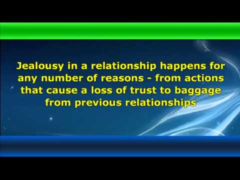 ★ Dealing with Jealousy in a Romantic relationship