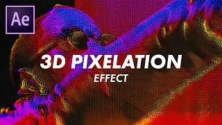 "Big Sean ""Sacrifices"" 3D Pixelgrid Effect (Music Videos) (Adobe After Effects CC 2018 Tutorial)"