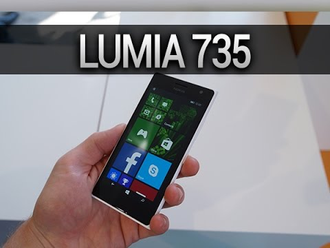 Nokia Lumia 735, prise en main - par Test-Mobile.fr