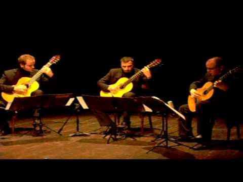 M.De Falla Danza de La Vida Breve . Trio Chitarristico Siciliano, Teatro Libero