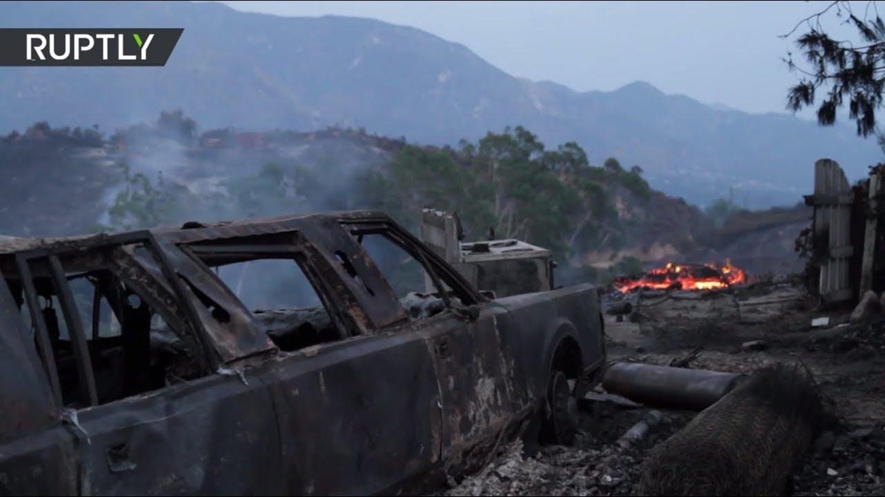 Los Angeles blaze spread 'to over 5,000 acres' - LAFD