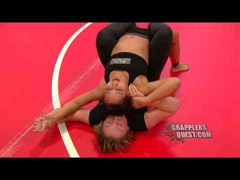 Female Grappling - Advanced Womens Amanda Leve vs Katalina Morales at Grapplers Quest Worlds 2013 Image 1