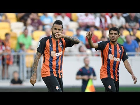Veres 1-2 Shakhtar. Highlights (27/08/2017)