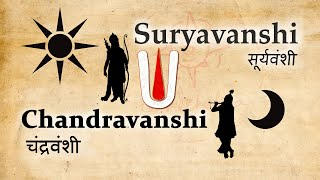 Suryavanshi and Chandravanshi | Origin