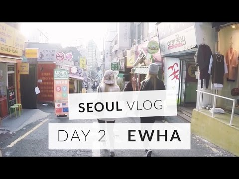 Seoul Vlog Day 2 - Shopping and food