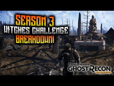 Ghost Recon Wildlands - Seasonal Challenge Breakdown! Season 3 - Witches Challenge!