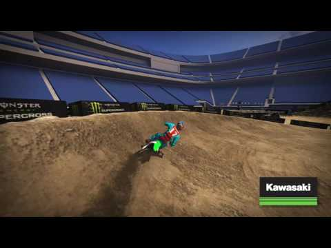 East Rutherford Supercross - Kawasaki Track Map 2017