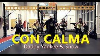 Con Calma Daddy Yankee Snow Zumba ️ Coreografia Cia Art Dance
