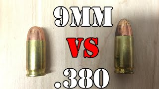 9mm vs .380: What is the difference?...