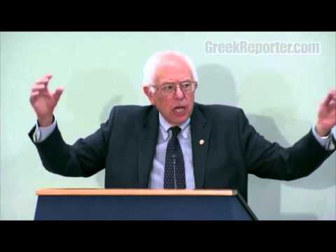 Bernie Sanders on the Greek Crisis and IMF