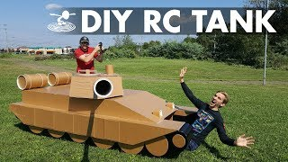 How We Built a Giant 12-Foot RC Tank!