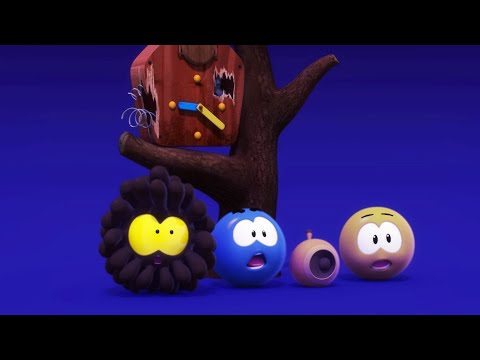 Learn COLORS with WONDERBALLS | Lost In The Night | Funny Cartoons for Kids | Moonbug Kids