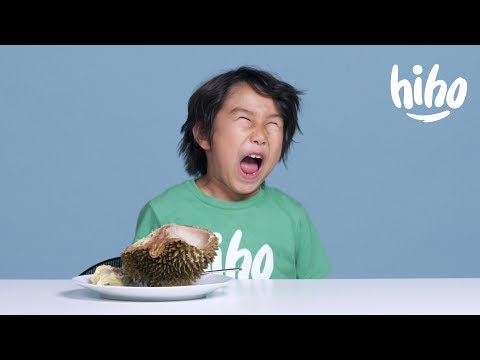 Kids Try Exotic Fruits   Kids Try   HiHo Kids