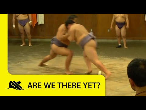 Are We There Yet? World Adventure - Webisode: JAPAN Sumo Autograph