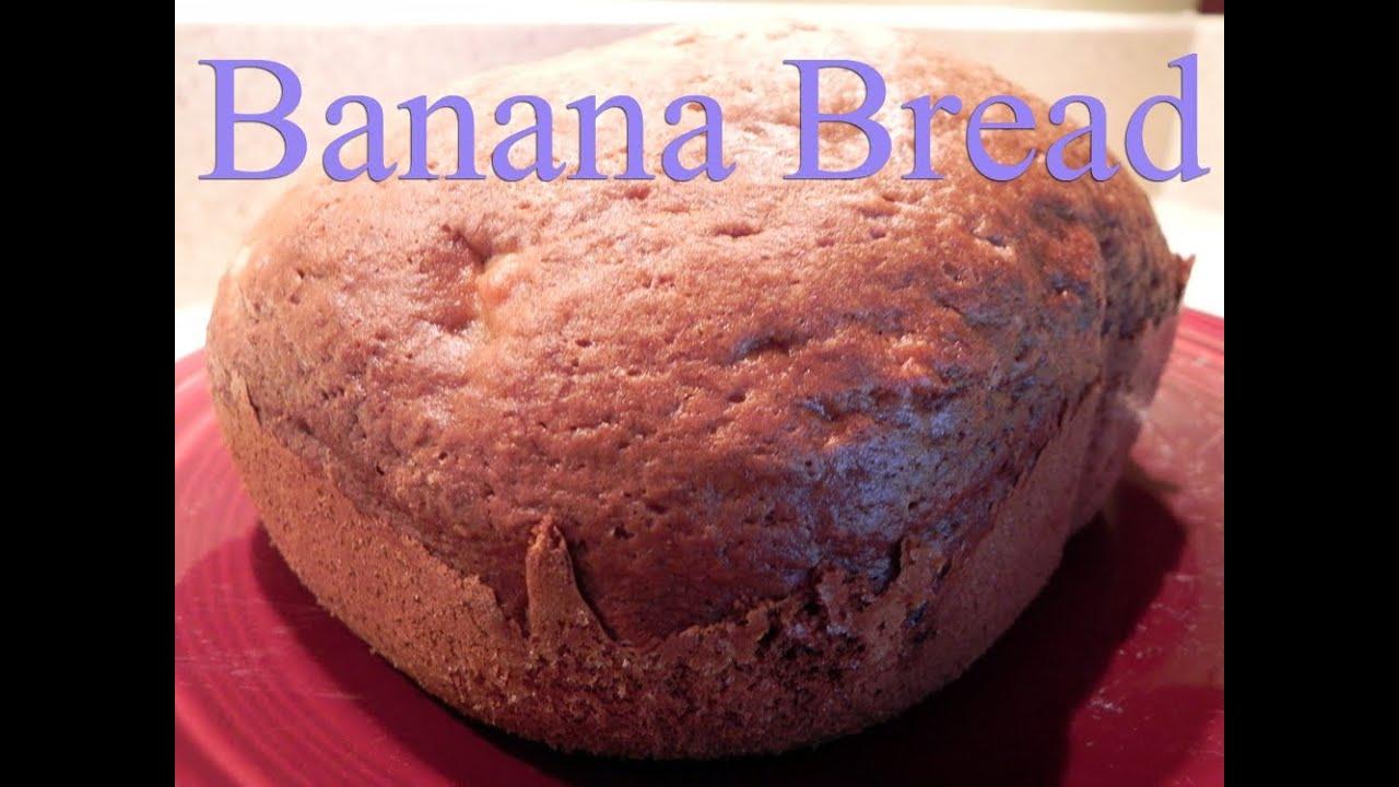 bread machine recipe for banana bread