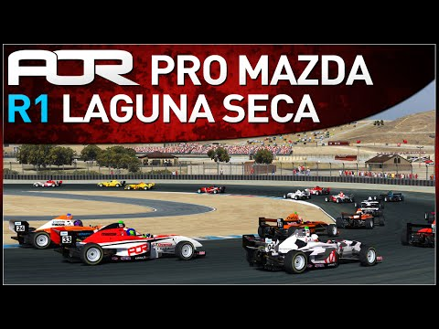 Official Highlights from Round 1 of the AOR Pro Mazda Championship on iRacing! Edited by Crekkan and commentated by FakeGhostPirate and Harrison101HD. For mo...