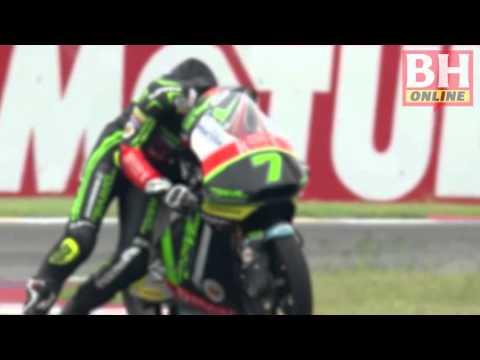 Moto3: Keringat Adam ke garis penamat
