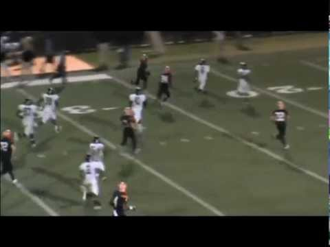 QB #7 Jason Smith McGill-Toolen Catholic High School Highlights - 10/19/2012