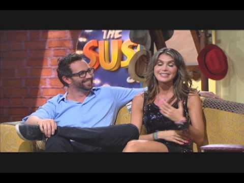 En The Suso's Show Lucas Arnau e Isabel Cristina Estrada